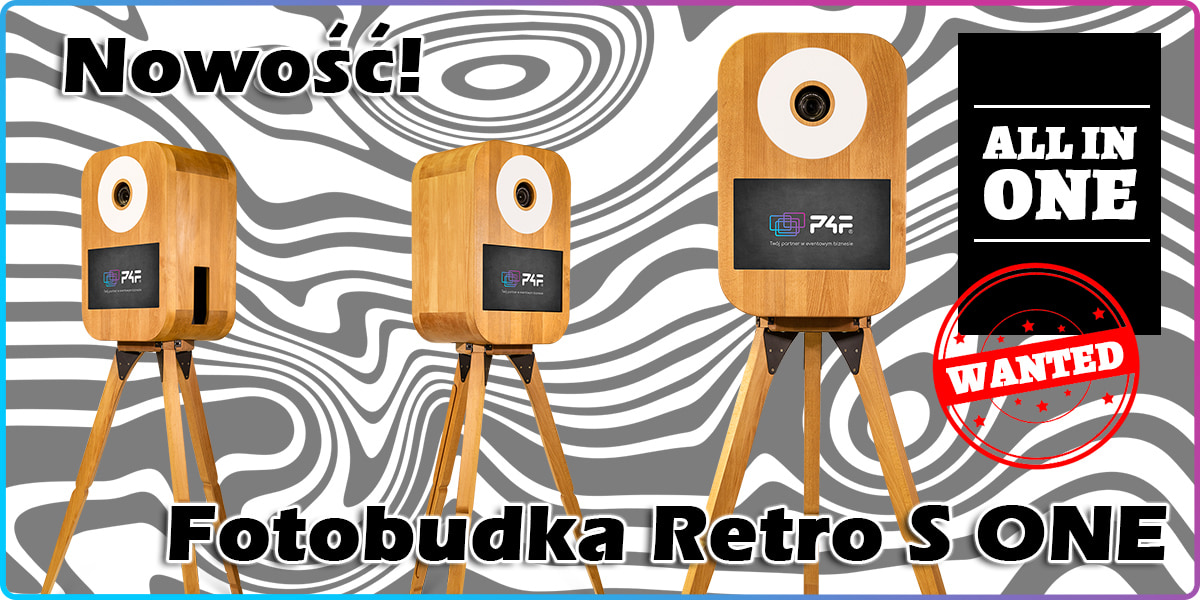 Fotobudka retro S ONE kompaktowa