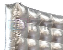 Dmuchana ścianka srebrna 2,4X3m