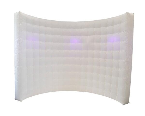 biała ścianka do fotobudki tło