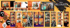 Szablony Halloween01 12 sztuk Premium
