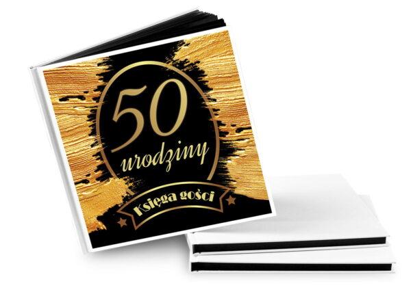 księga gości na 50 urodziny