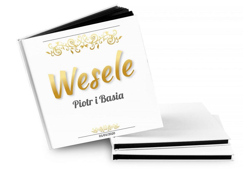Księga gości weselnych - wiele wzorów