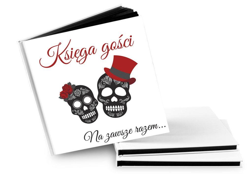 """Księga gości z napisem """"Księga gości"""" - Księga gości na wesele"""