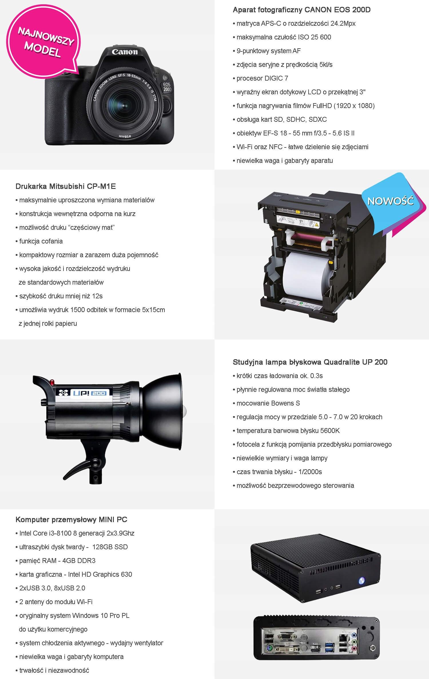 podzespoly fotolustro premium 60 i 65