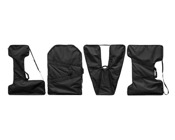 pokrowce na napis 3d love