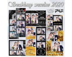 szablony fotobudkowe weselne na 2020 hit