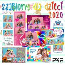 szablony do fotobudki dla dzieci 2020