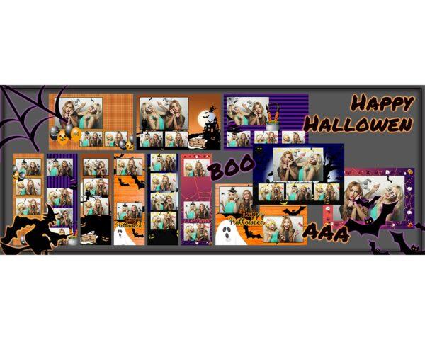 fotobudka halloween szablony