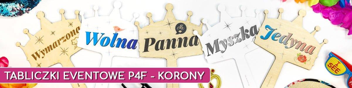 tabliczki eventowe p4f korony