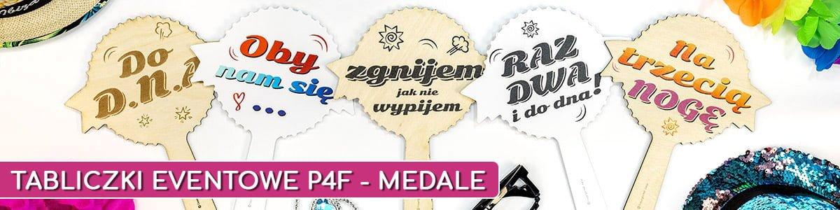 tabliczki eventowe p4f medale