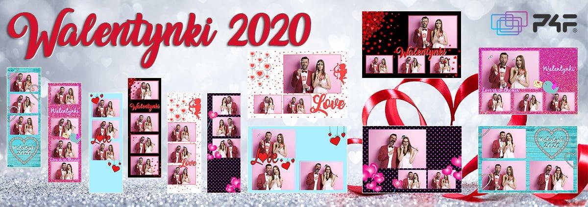 szablony do fotobudki walentynki 2020